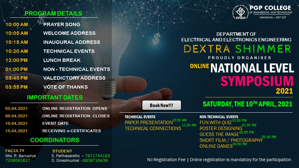 Online National Level Technical Symposium 2021